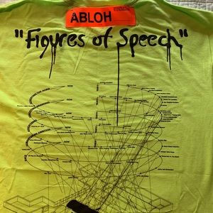 Virgil Abloh Figures of Speech XL t-shirt